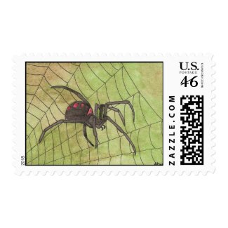 Spider on Duty stamp