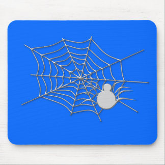 spider on his web mouse pad