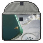 Spider on water foutain sleeve for MacBooks