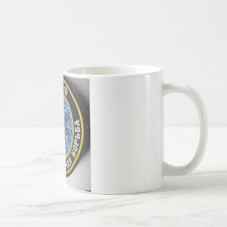 spider patch.russian secret service coffee mug