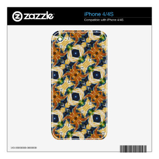 Spider Pattern iPhone 4 Decal