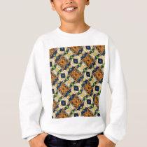 Spider Pattern Sweatshirt