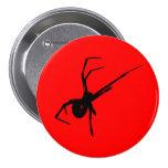 Spider Pinback Button
