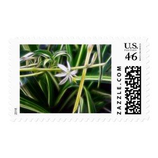 Spider Plant 1 Neon stamp