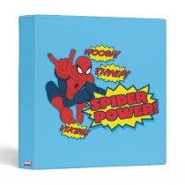 Spider Power Spider-Man Graphic Binder