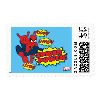 Spider Power Spider-Man Graphic Postage
