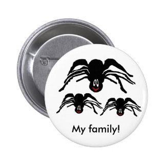 Spider Products Pinback Button