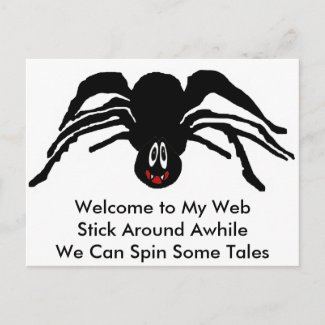 Spider Products postcard