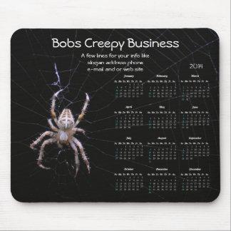 Spider Promotional Calendar mousepad