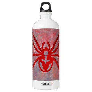 SPIDER RED CUSTOMIZABLE ALUMINUM WATER BOTTLE