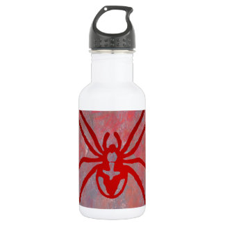 SPIDER RED CUSTOMIZABLE 18OZ WATER BOTTLE
