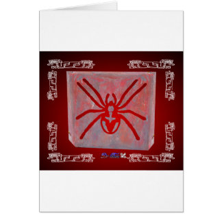 SPIDER RED CUSTOMIZABLE PRODUCTS CARD