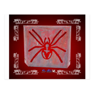 SPIDER RED CUSTOMIZABLE PRODUCTS POSTCARD