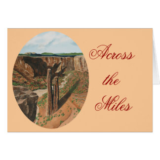 Spider Rock, Canyon de Chelly, Arizona Stationery Note Card