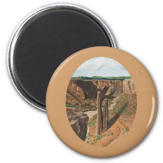 Spider Rock, Canyon de Chelly, Arizona Fridge Magnets