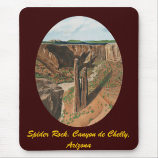 Spider Rock, Canyon de Chelly, Arizona Mouse Pad