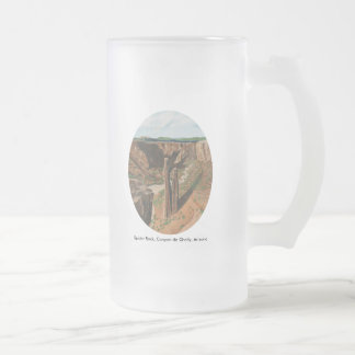 Spider Rock, Canyon de Chelly, Arizona 16 Oz Frosted Glass Beer Mug