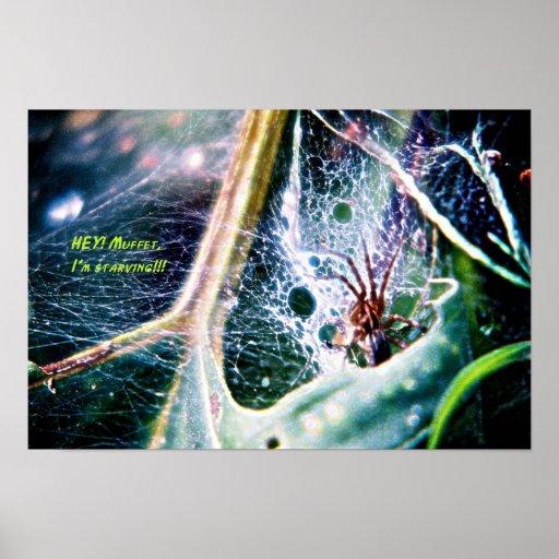 Spider sans Muffet Poster