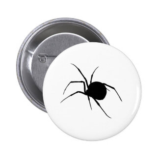 Spider Silhouette Buttons