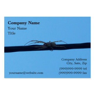Spider Sillouette Business Card