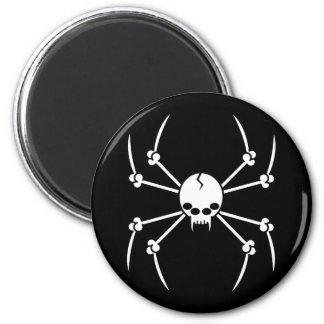 Spider Skull Magnet