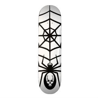 Spider Skull Skateboard