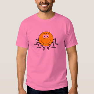Spider  Smiley Face T-Shirt