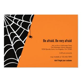 Spider Spider Halloween Party Invitation