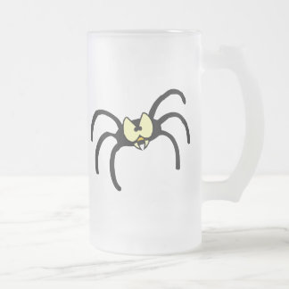 Spider Spooky October Fall Party Destiny Art Frosted Beer Mug