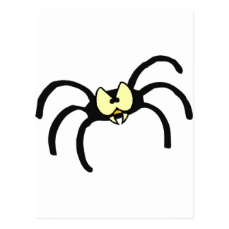 Spider Spooky October Fall Party Destiny Art Postcard