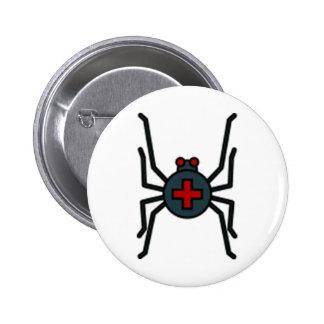 Spider Standard Round Button