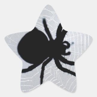Spider Star Sticker