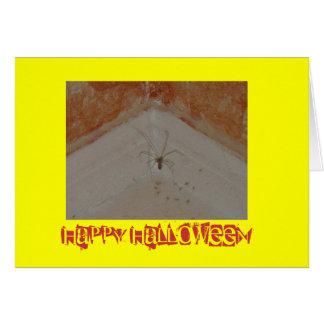 Spider sweet Halloween Greeting Card