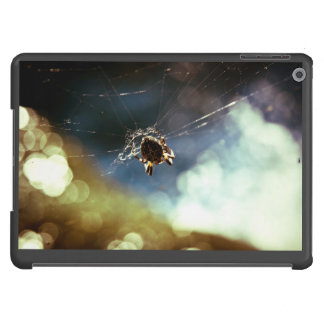 Spider Themed, A Spider Weaving Its Web To Catch T iPad Air Cases