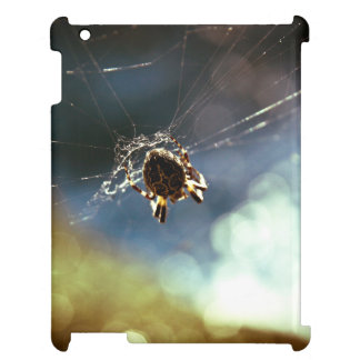 Spider Themed, A Spider Weaving Its Web To Catch T iPad Cases