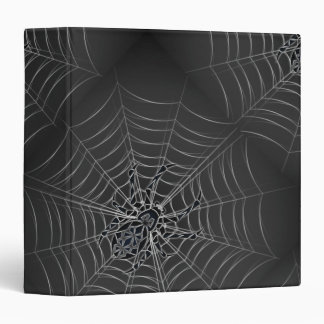 Spider Tribal 3 Ring Binder