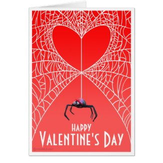 Spider Valentine's Day Card