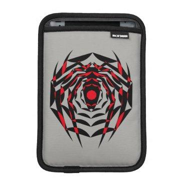 Spider-Verse | Advanced Suit Spider Webbed Emblem iPad Mini Sleeve