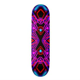 Spider Vortex mandala Skateboard Deck