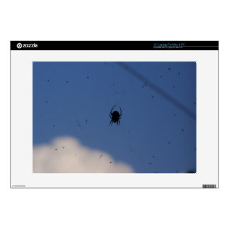 """Spider Waiting on a Meal Skins For 15"""" Laptops"""