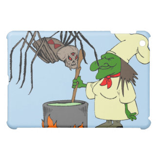 Spider watching the witch chef iPad mini cases