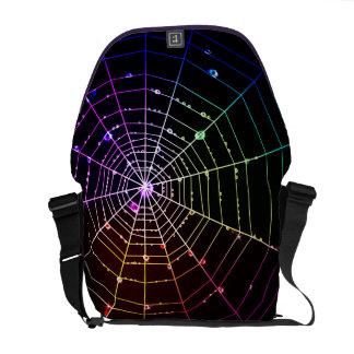 Spider Web 1 Messenger Bag