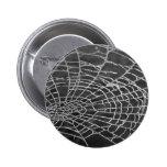 Spider Web 2 Inch Round Button
