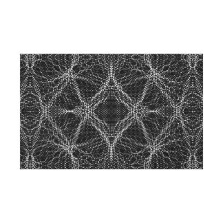 Spider Web Abstract Canvas Prints