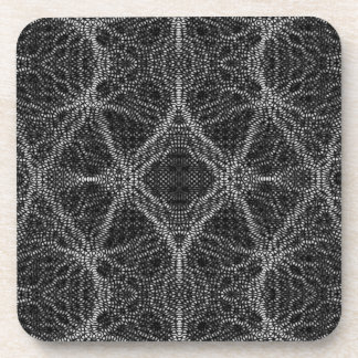 Spider Web Abstract Coasters