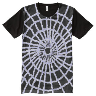 Spider Web All-Over Print T-shirt
