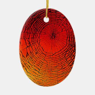 Spider Web Art Ornament