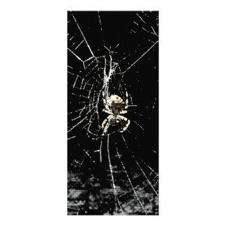 Spider Web at Midnight Rack Card