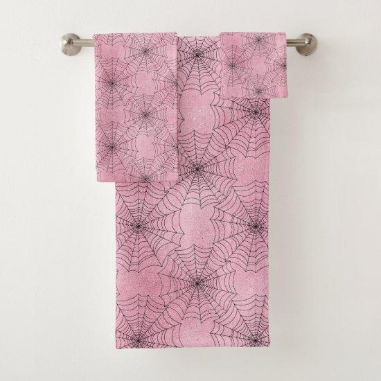 Spider Web Bath Towel