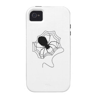 Spider & Web Vibe iPhone 4 Cover